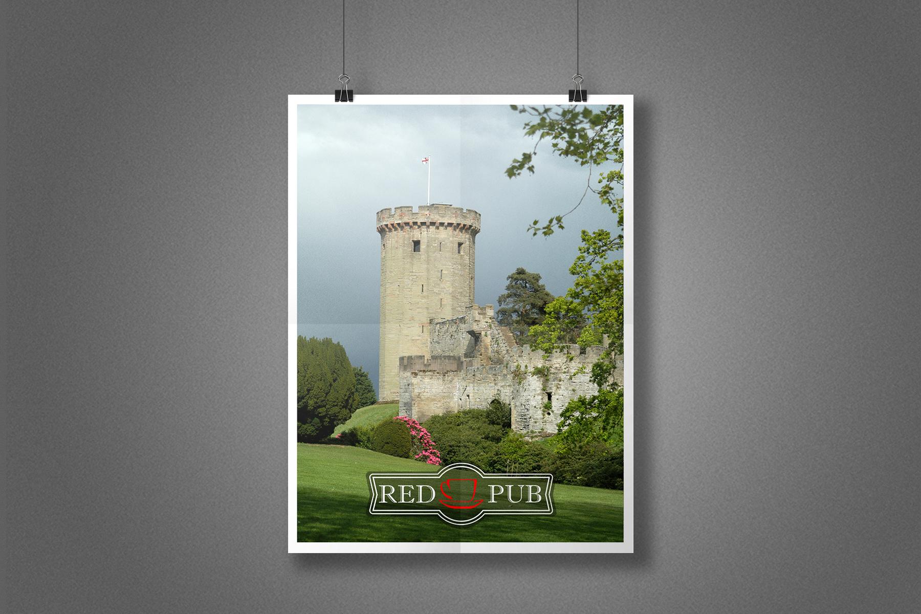 Плакат Red Cup Pub - Винзорский замок