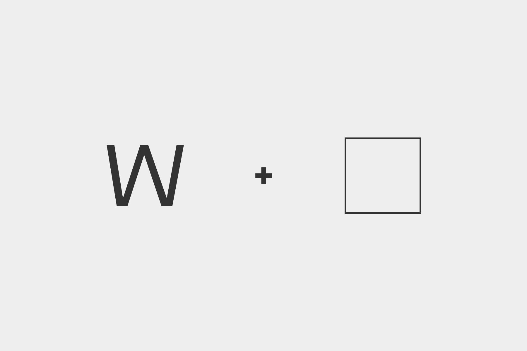 Логотип Woxwel Design - концепция